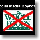 Facebook,Twitter, Flickr & YouTube Boycott Whole Foods
